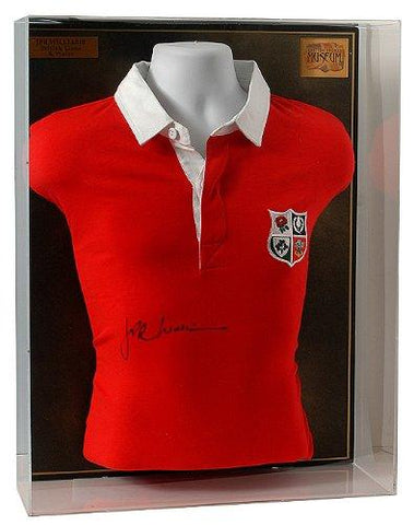 JPR Williams hand signed Retro British Lions shirt. (LOT558)