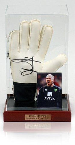 John Ruddy Hand Signed Goalkeeping Glove Norwich City