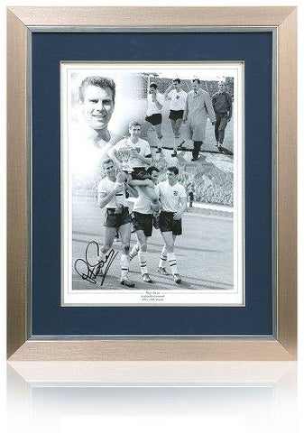 Large Peter Swann hand signed England 16x12'' Photo (PP584)
