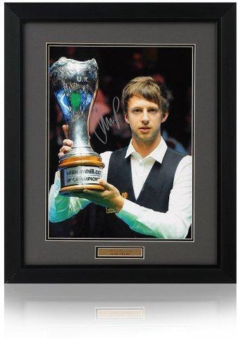 Judd Trump Hand Signed 16x12'' Snooker Photograph Photo COA