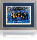 KILMARNOCK Scottish League Cup Winners Hand Signed 23x19'' AFTAL Photo Proof COA