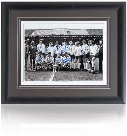Derby County 1974/75 hand signed 16 x 12'' teamgroup photograph