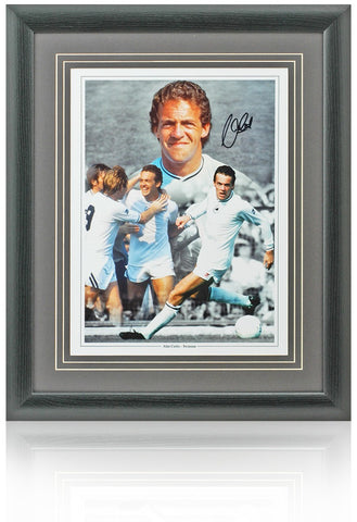 Alan Curtis hand signed 16x12'' Swansea photo