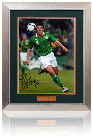 Sean St Ledger Hand Signed 16x12'' Republic of Ireland Photograph AFTAL COA