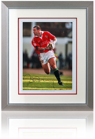 John Bentley hand signed 16x12'' British & Irish Lions photo