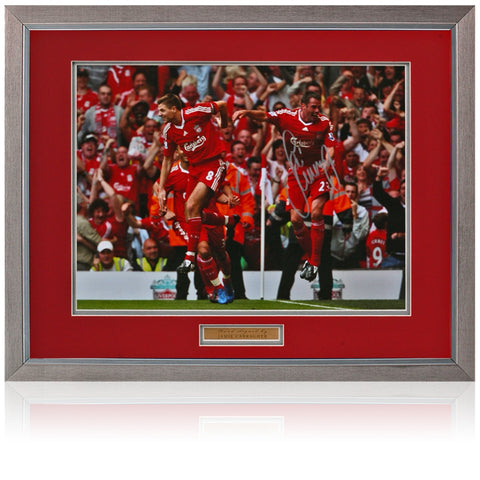 PHOTO  DISPLAY LIVERPOOL LEGEND RAY CLEMENCE HAND SIGNED 12 x 16 MONTAGE COA