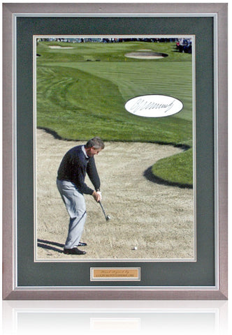 Colin Montgomerie, OBE Hand Signed 19x12'' Golf Photograph AFTAL COA