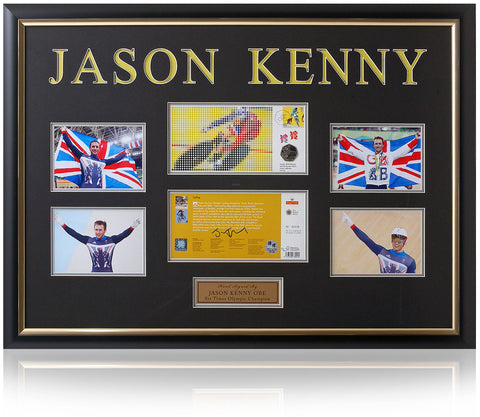 Jason Kenny Hand Signed Cycling Coin Presentation London 2012 Olympics