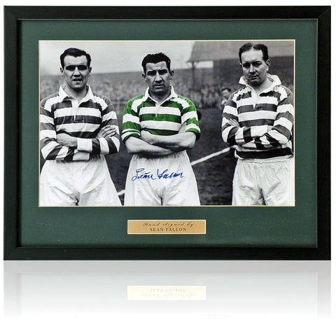 Sean Fallon Hand Signed 12x8'' Celtic Photograph AFTAL COA