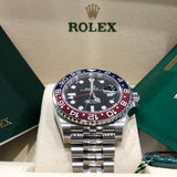 Rolex 126710BLRO GMT-Master II 40mm Stainless Steel Pepsi Jubilee