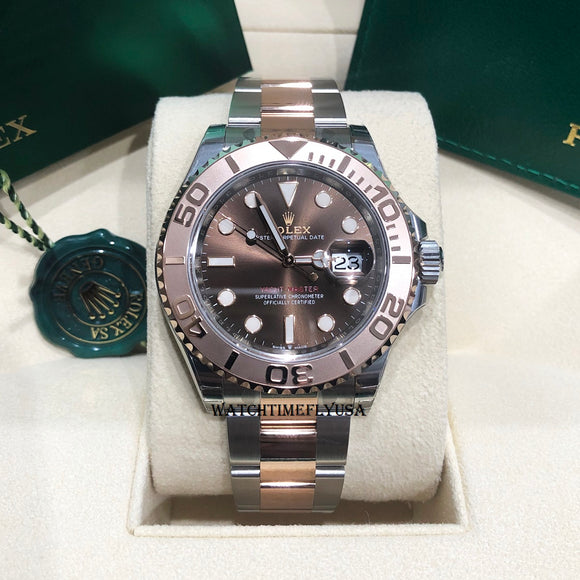 Rolex 126621 Steel/Rose Gold Yacht-Master 40 Brown Chocolate Dial