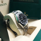 Rolex 214270 Explorer Stainless Steel Black Dial 39mm