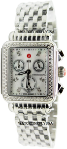 MICHELE Deco Diamond, Diamond Dial Watch MWW06P000099