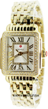 MICHELE Deco Madison Mid Gold Diamond Watch MWW06G000003