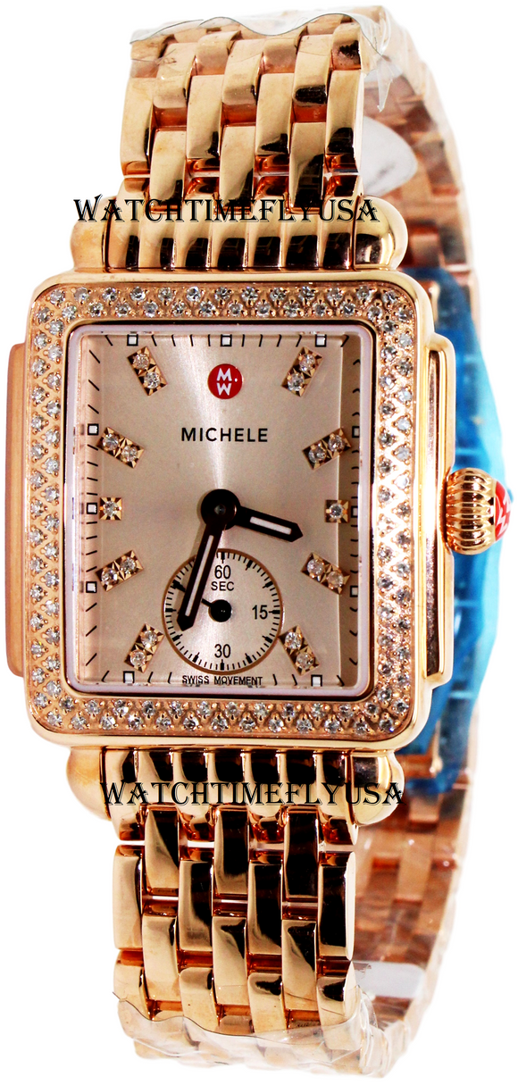 MICHELE Deco 16 Diamond Ladies Watch MWW06V000093