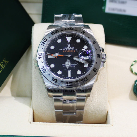 Rolex Explorer II 216570 Black Dial Stainless Steel 42mm Watch