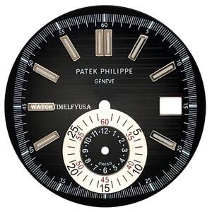 PATEK PHILIPPE Nautilus Black Dial For Stainless Steel 5980/1A-014