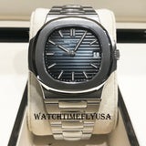Patek Philippe 5711/1A-010 Nautilus Stainless Steel Blue Dial 40mm Watch