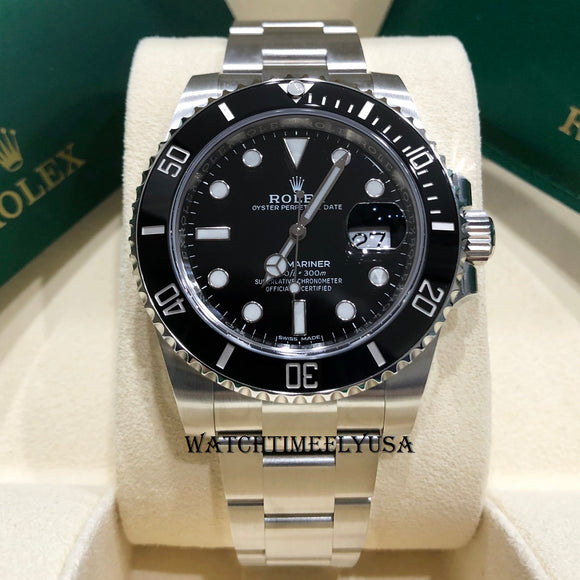 Rolex 116610 LN Submariner Date Black Ceramic 40mm