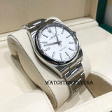 Rolex Oyster Perpetual 39 114300 Stainless Steel White Dial