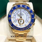 Rolex 116688 Yacht-Master II Yellow Gold 44mm White Dial