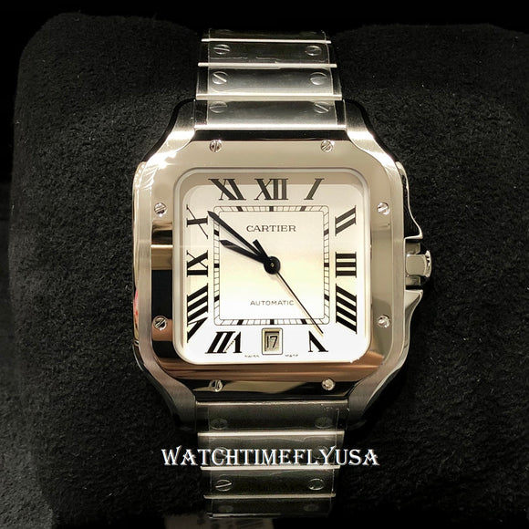Cartier WSSA0009 Santos de Cartier Watch Stainless Steel