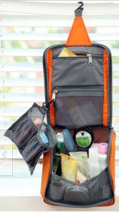On-the-Go Hanging Toiletry Bag