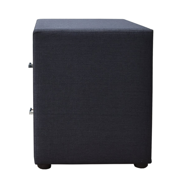 Artiss Moda Bedside table - Charcoal
