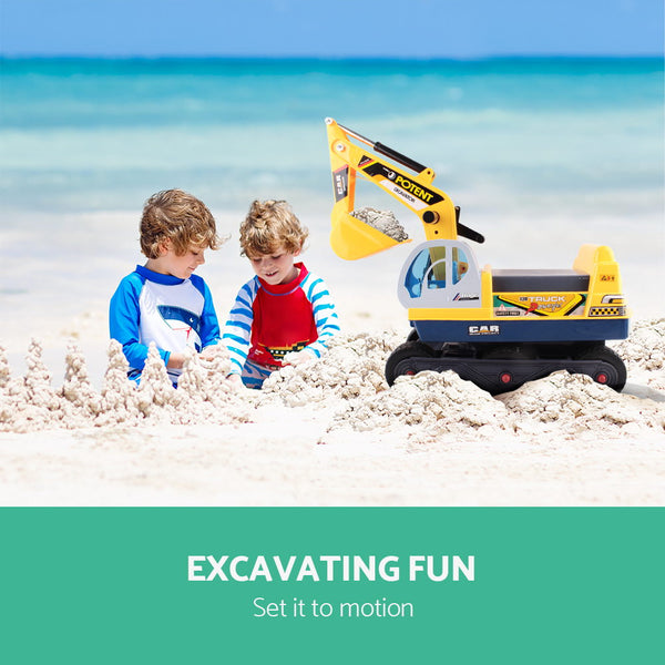 Kids Ride On Excavator
