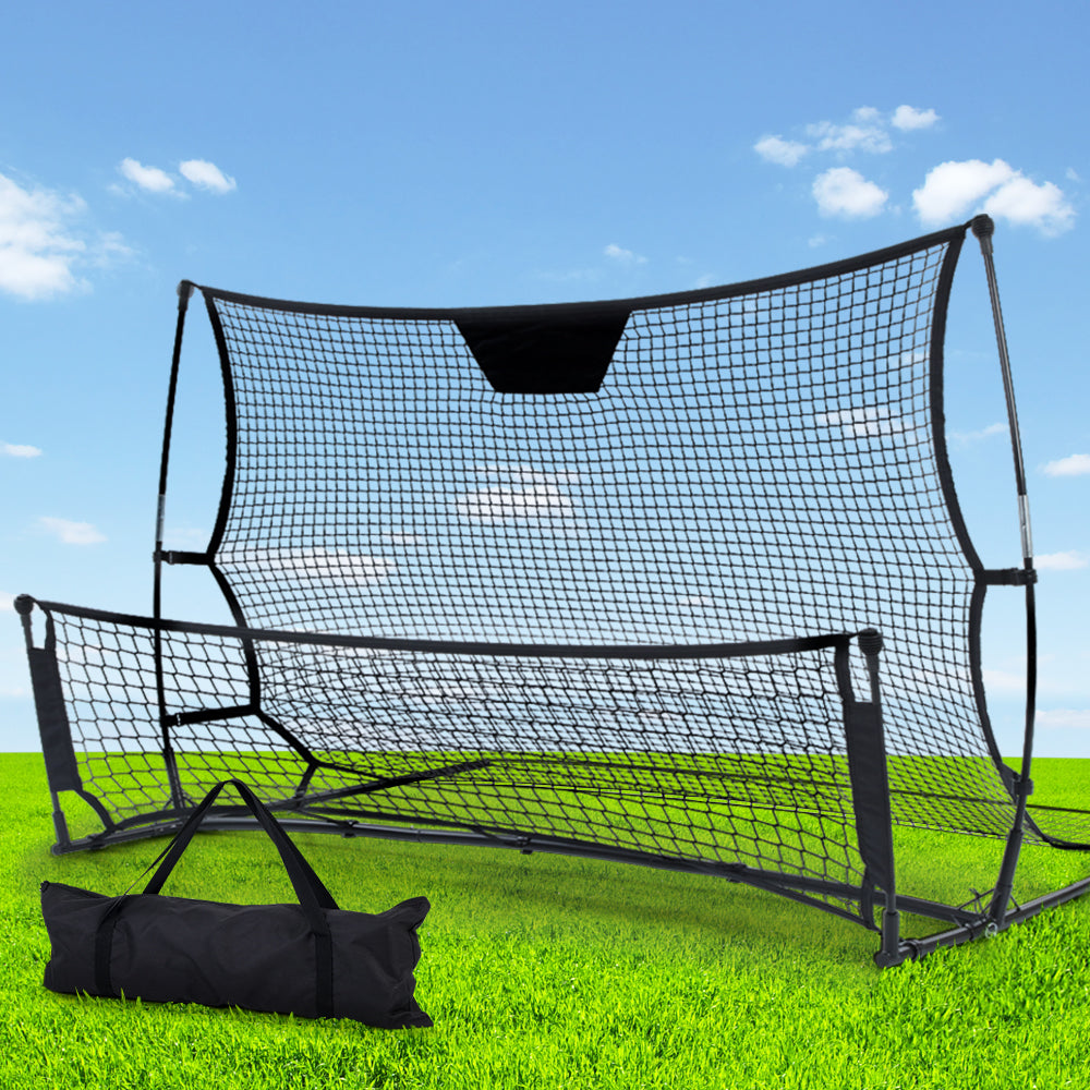 Everfit Portable Soccer Rebounder Net Volley Training Football Goal Trainer XL