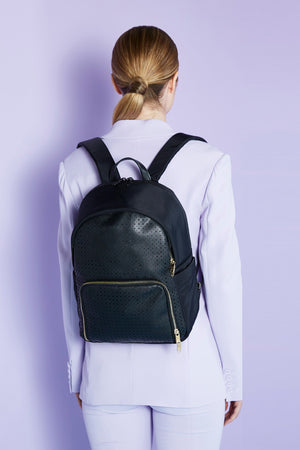 Utoppii flagship backpack with perforated mesh front