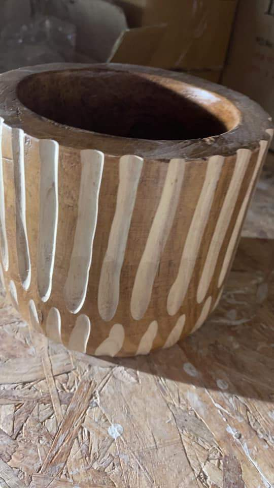 Large wooden Planter