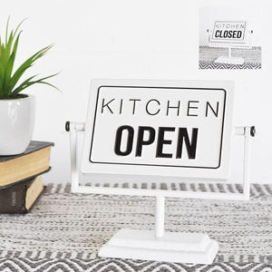 Kitchen open/closed
