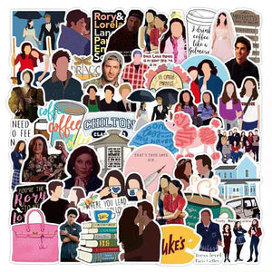READY TO SHIP * Gilmore Girls  Waterproof Vinyl Matte Stickers