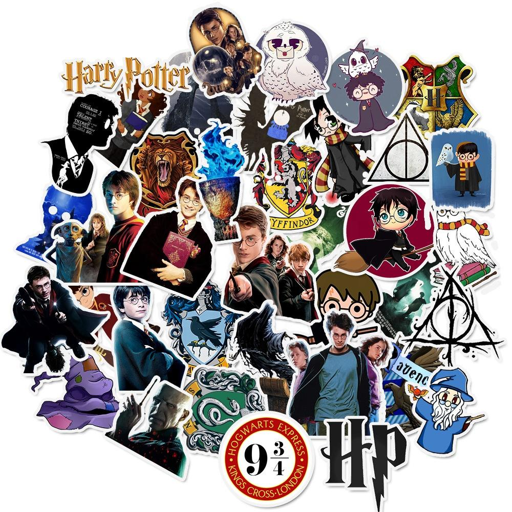 READY TO SHIP * Harry Potter Waterproof Vinyl Matte Stickers