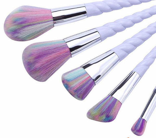 READY TO SHIP * Rainbow Makeup Brush Sets