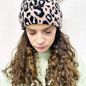 READY TO SHIP * Leopard Beanie