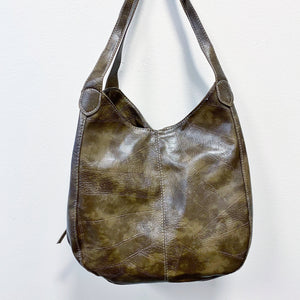 READY TO SHIP * The Classic Bucket Bag // Olive