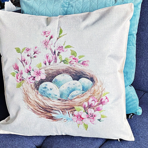 READY TO SHIP * Easter Pillow Covers w/ Zipper // 6 Styles