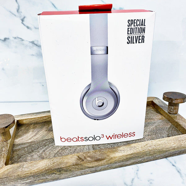 "READY TO SHIP * Special Edition Silver ""Beats"" Inspired Headphones"