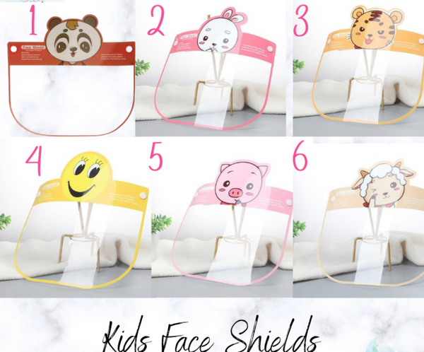 DEAL Ready to Ship * Kids Face Shields