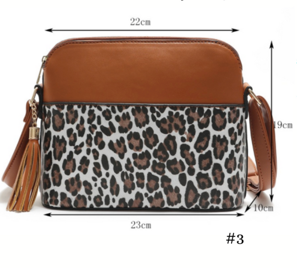 READY TO SHIP * Leopard/Snake Crossbody Bags