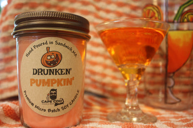 Drunken Pumpkin' 8oz. Soy Candle