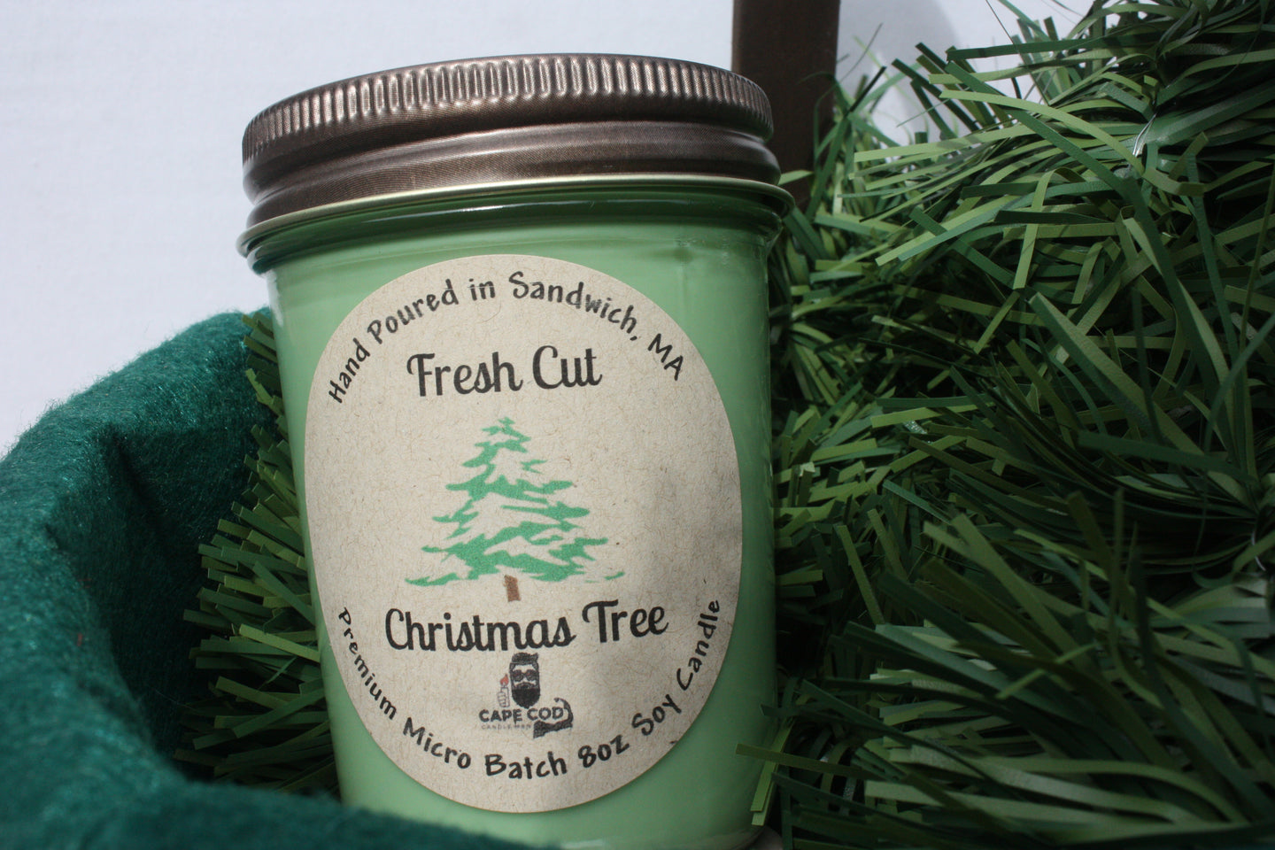 Fresh Cut Christmas Tree 8oz. Soy Candle