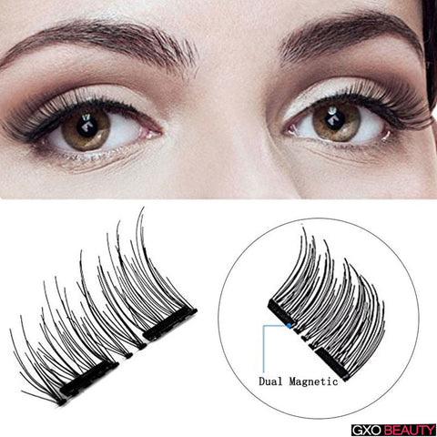 GXO BEAUTY 1Pairs Magnetic Eyelashes