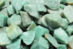 Green Aventurine Rough Natural Stones: Choose How Many Pieces ('A' Grade, Green Quartz, Raw Green Aventurine)