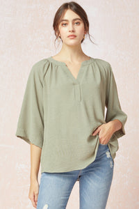Light Olive Blouse