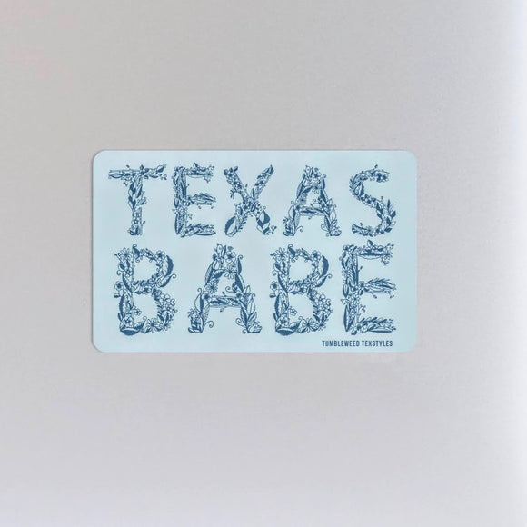 Texas Babe | Sticker
