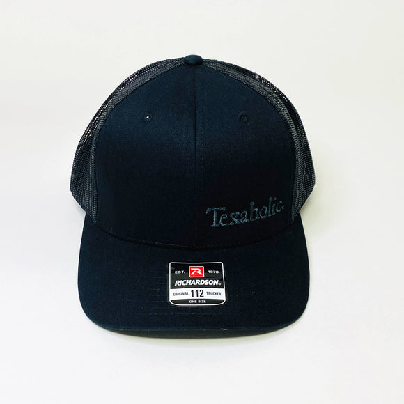 Texaholic Trucker Cap | Black