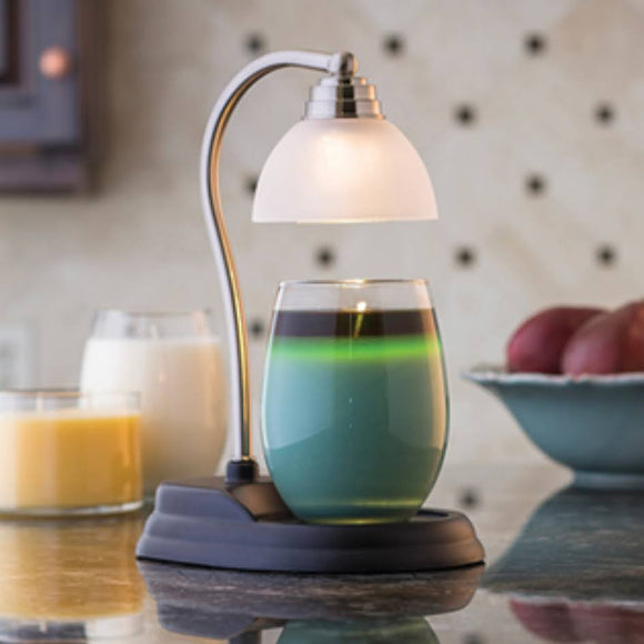 Candle Lamp Warmer | Pewter